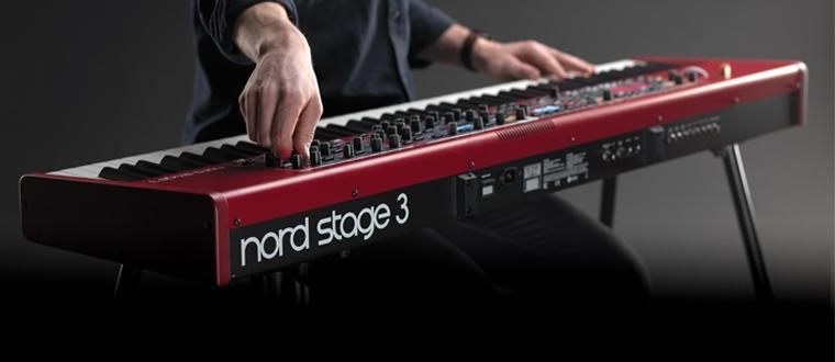 对, 你没听错,全新 Nord Stage 3 旗舰合成器今天发布啦!